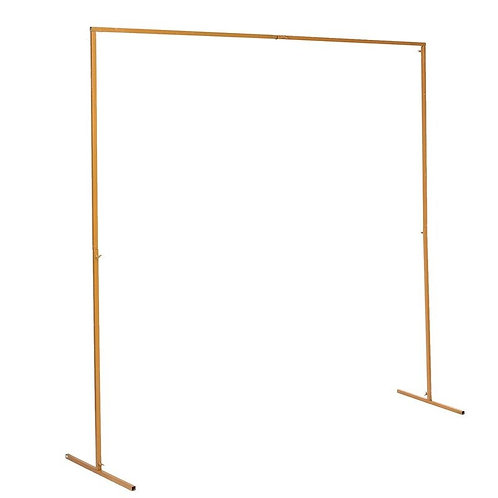 Square Metal Arch - Gold