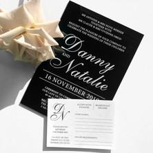 Danny & Natalie Wedding Invitation & RSVP