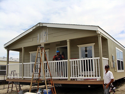 mobile home install