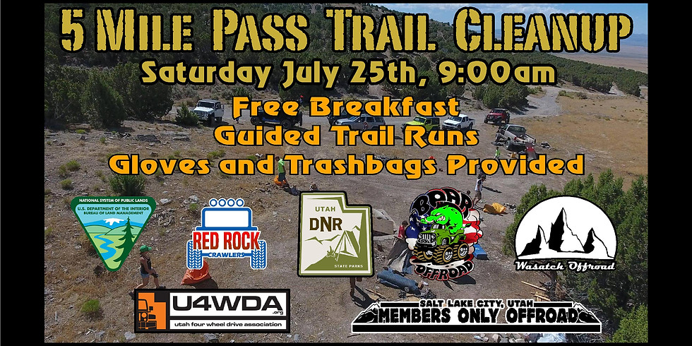 5 Mile Pass Cleanup and Trail Ride 2020