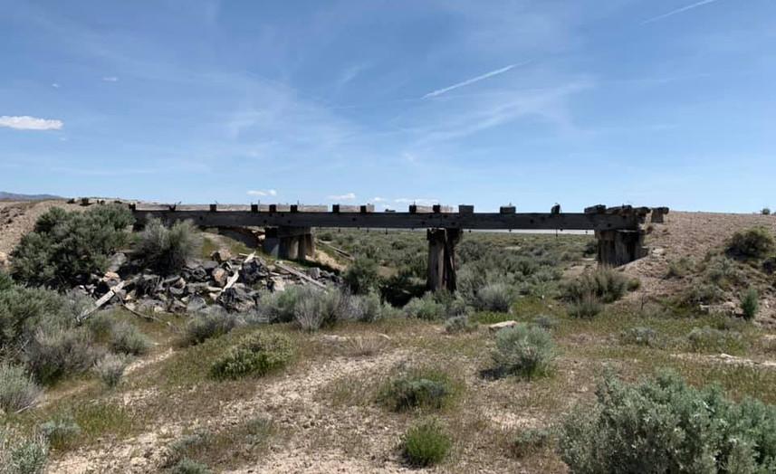 Transcontinental Railroad Bridge