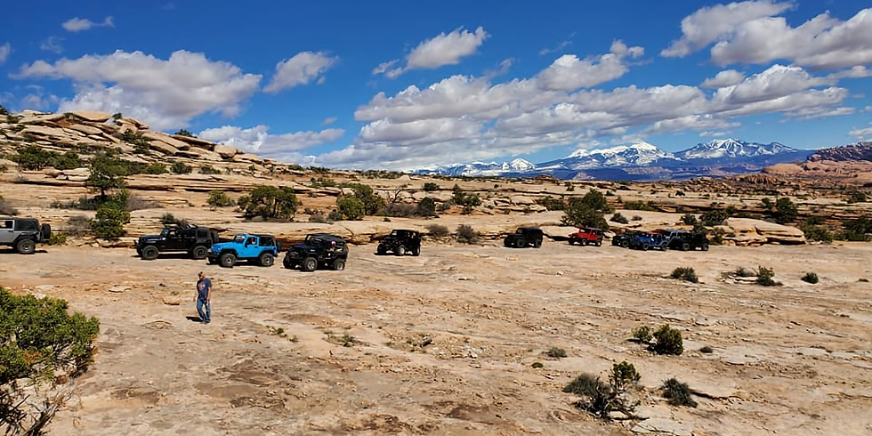 White Wash Sand Dunes and Rainbow Terrace - EJS 2020