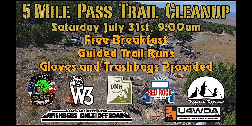 5 Mile Pass Cleanup and Trail Ride 2021