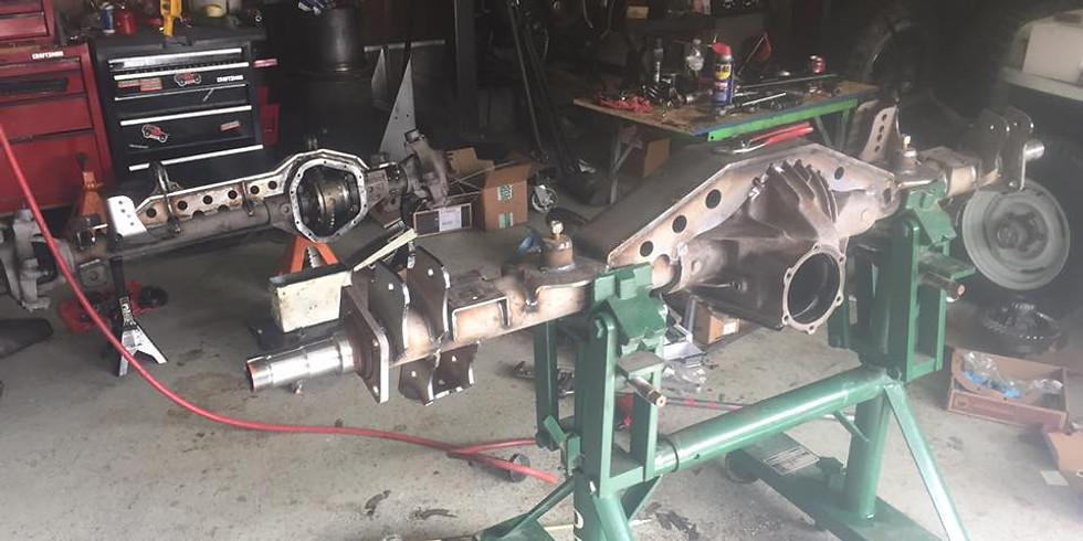 Axle Re-Gearing Training
