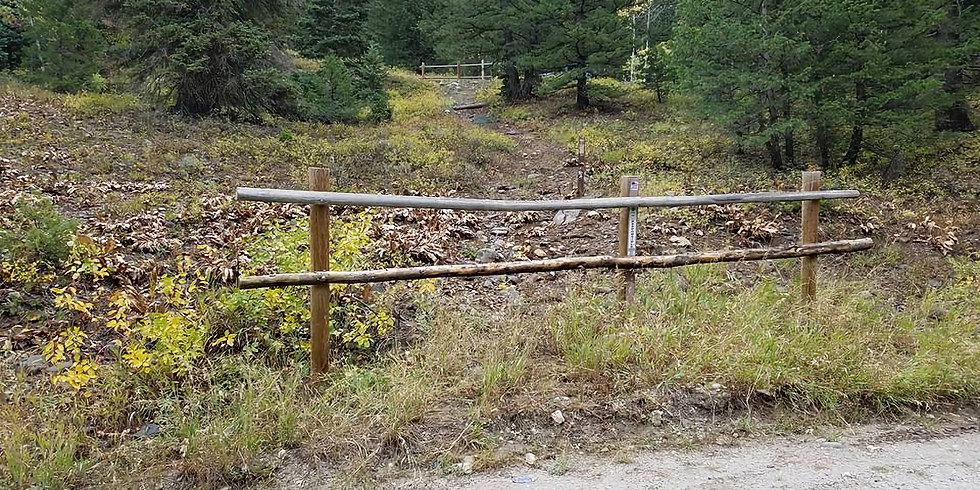 AF Canyon Fencing/Sign Install