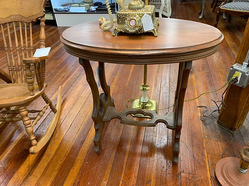 2-Tier Oval Table