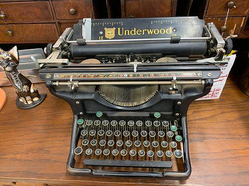 Underwood No. 6 Typewriter