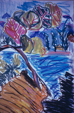 Leaves at Sea