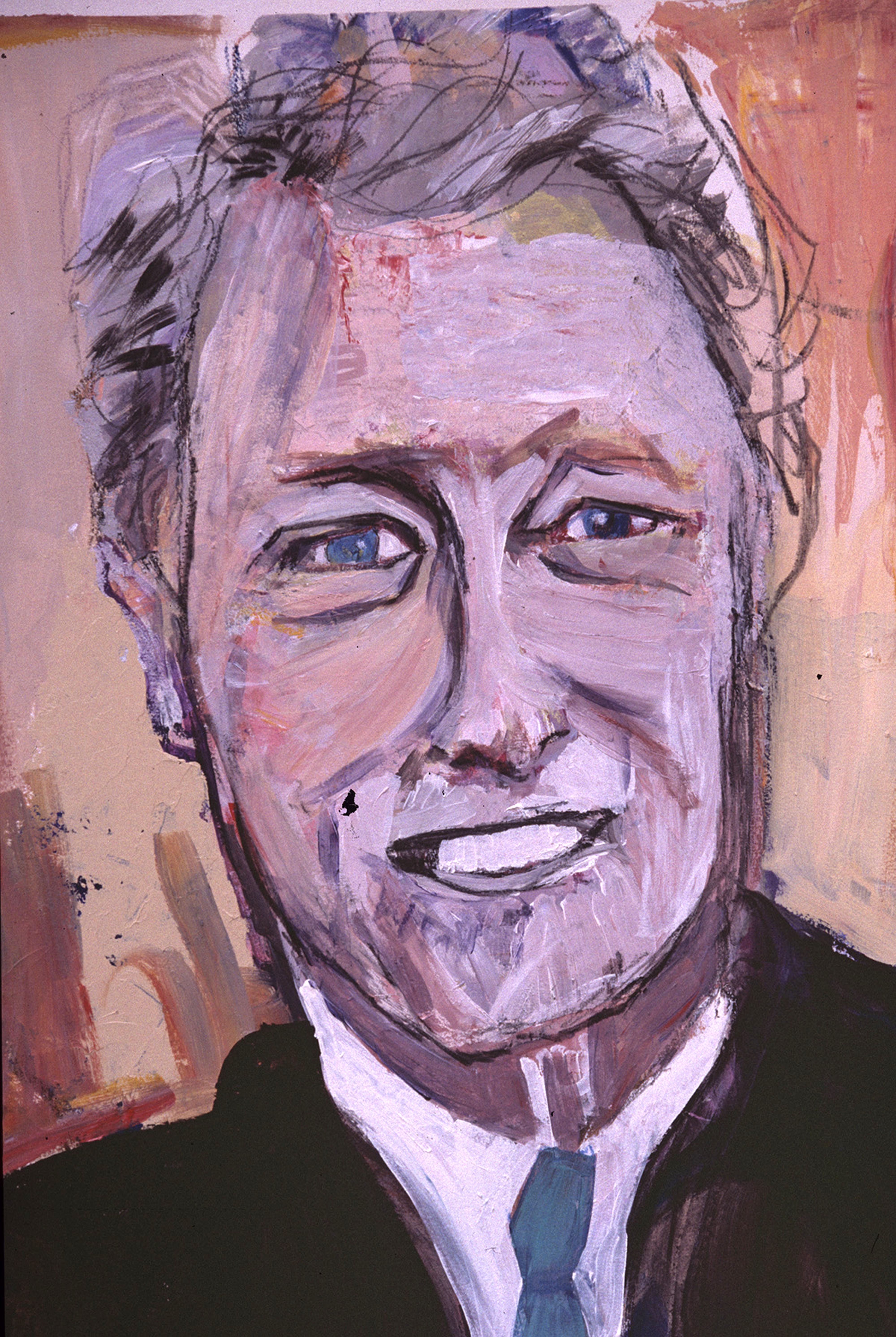 Bill Clinton (on paper)