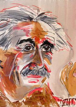 Einstein in Pink