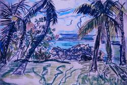 Palms at Sea