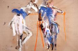 Women and Sawhorses