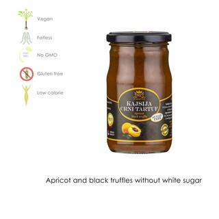 Apricot and black truffle white sugar free
