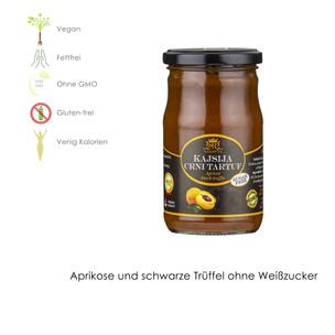 Aprikosen und schwarze Trüffeln OHNE WEIßEM ZUCKER