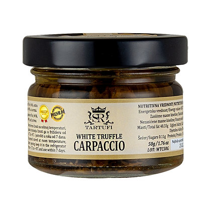 Carpaccio od belog tartufa