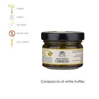 White truffle carpaccio