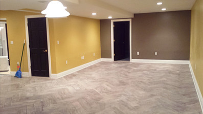 New Floor and Paint Job