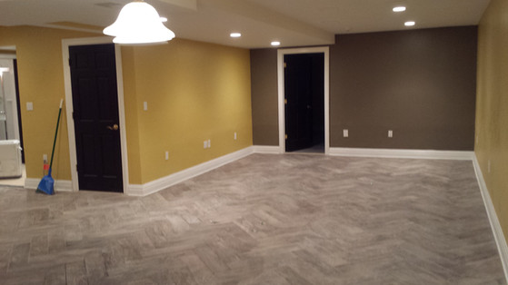 New Tile Floor and Paint Job