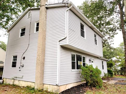 New Siding  of House Flipped