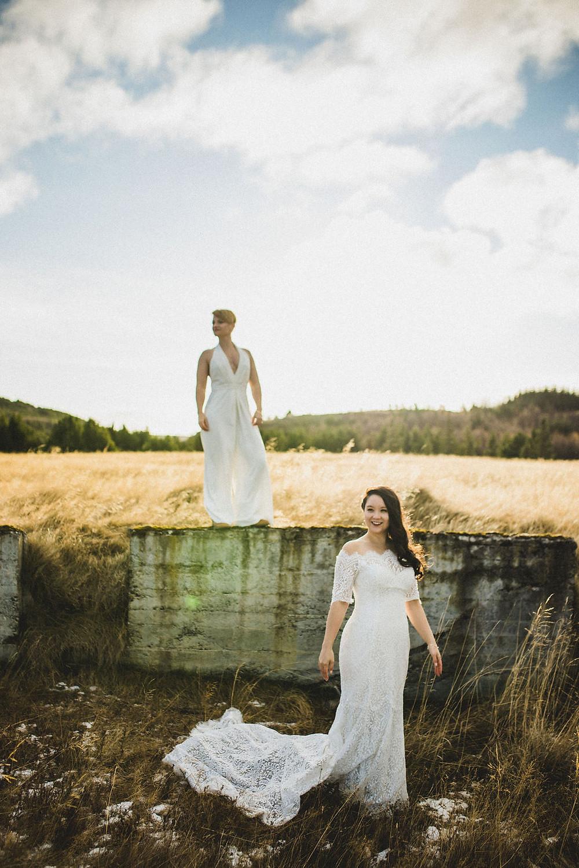 Lesbian wedding in Iceland