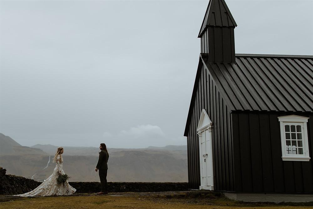 Budir Black Church Wedding ceremony location