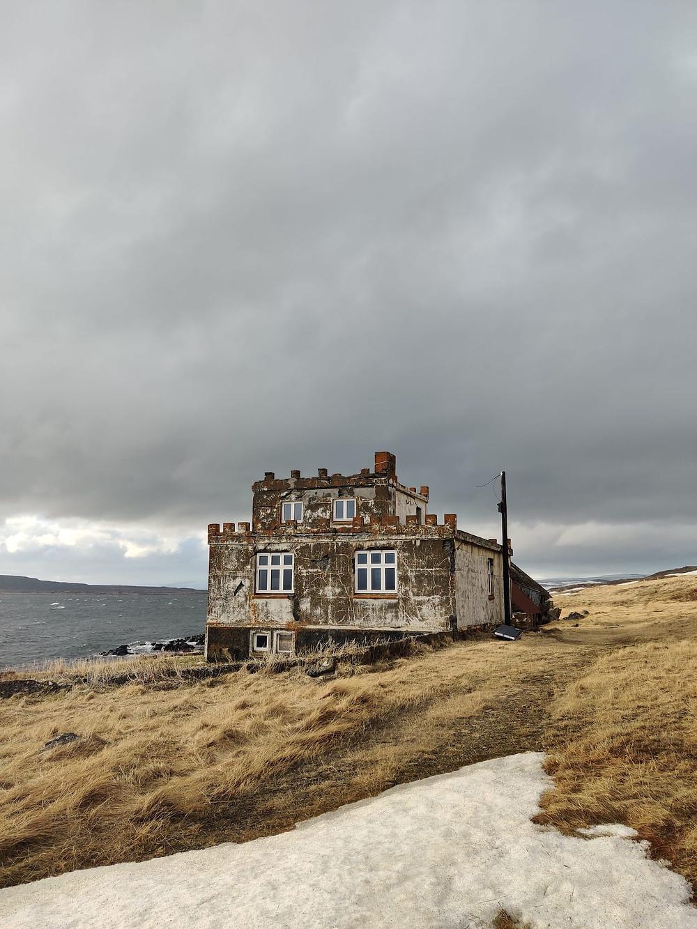The Castle at Arngerdareyri in the Westfjords