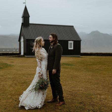 Iceland Country Church Weddings