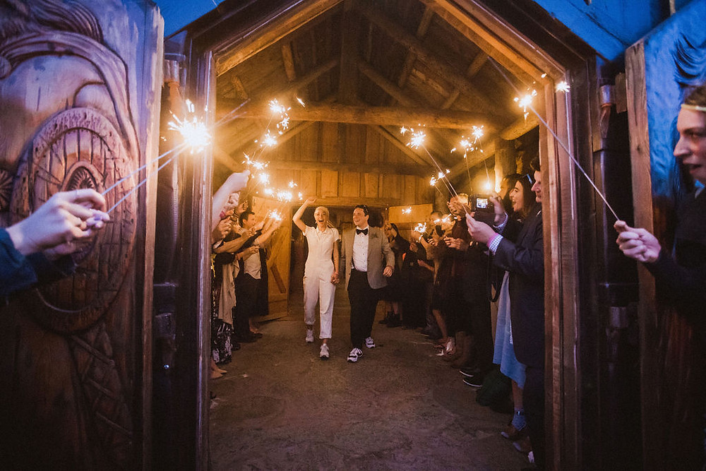 The perfect Wedding Exit