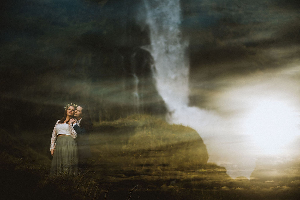 Gay wedding in iceland by pink iceland wedding planner
