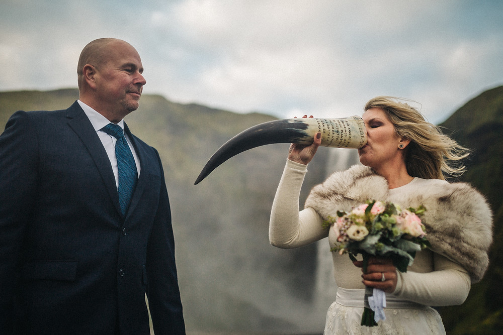 Nordic Chieftain Wedding Ceremony