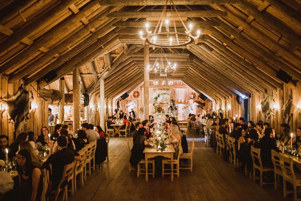 Iceland Wedding reception venue