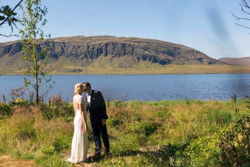 Iceland destination wedding planned by Pink Iceland