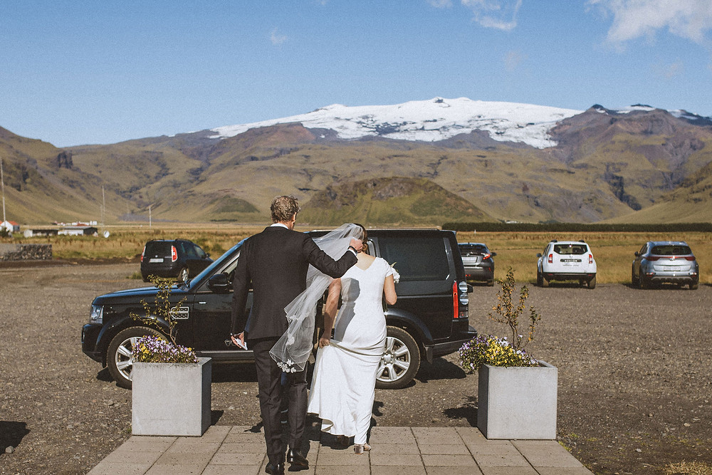 Destination wedding in Iceland at Umi Hotel planned by local wedding planner Pink Iceland