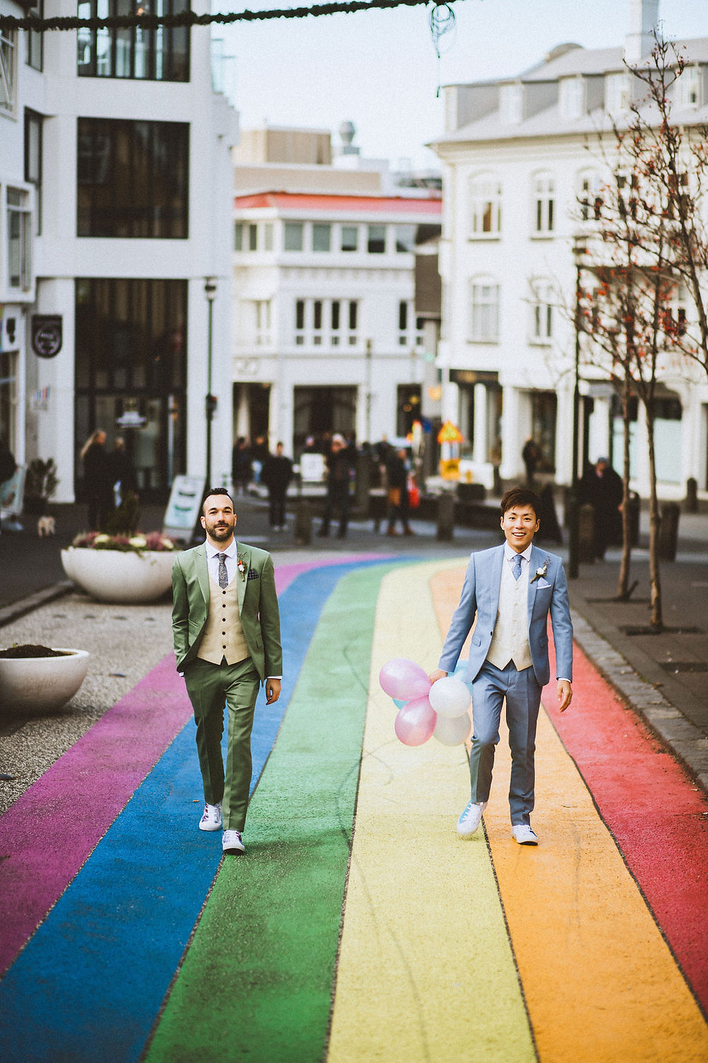Same Sex wedding in Reykjavik Iceland