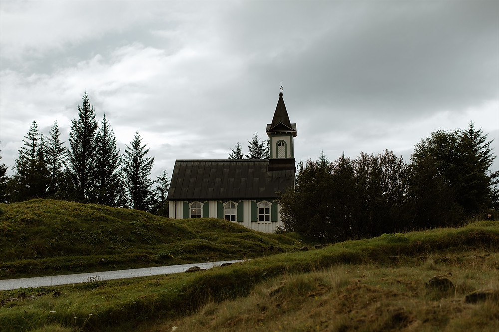 Beautiful Thingvellir Church in the National Park, photo by Styrmir & Heiddis