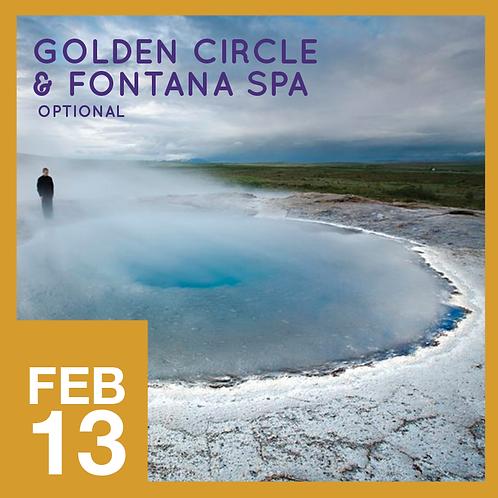 Golden Circle and Fontana Spa