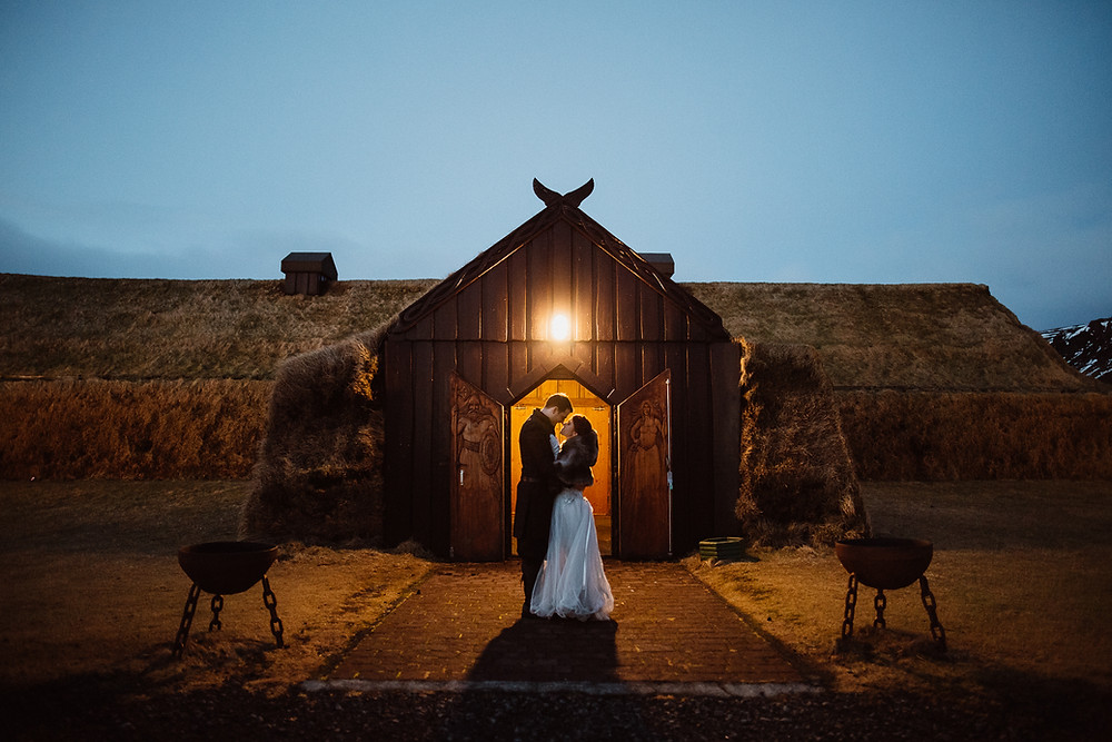 Game of Thrones themed wedding in Iceland planned by Pink Iceland