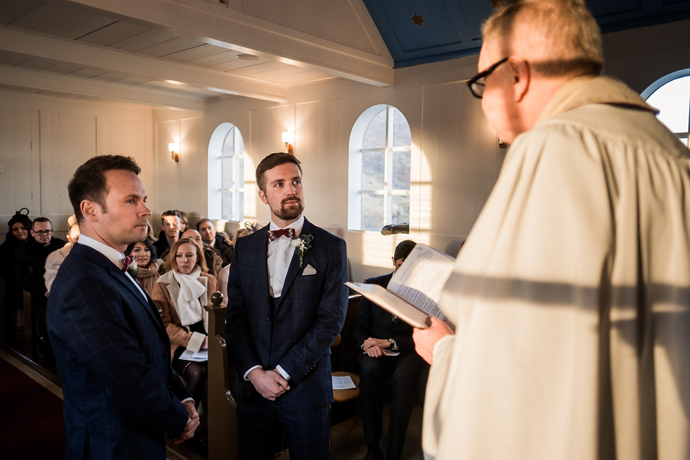 Same Sex Marriage in Icelandic Country church