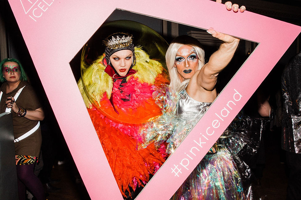 Pink Masquerade Party for Reykjavik Winter Pride