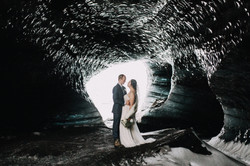 Ice-cave-wedding-in-iceland-pink-iceland