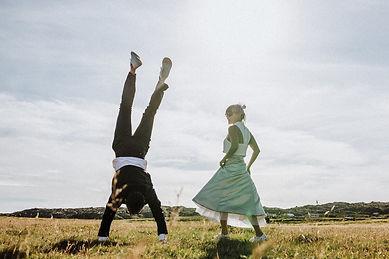 Destination adventure wedding in Iceland