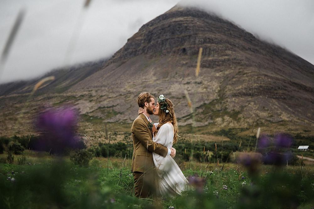 Iceland wedding in the Westfjords
