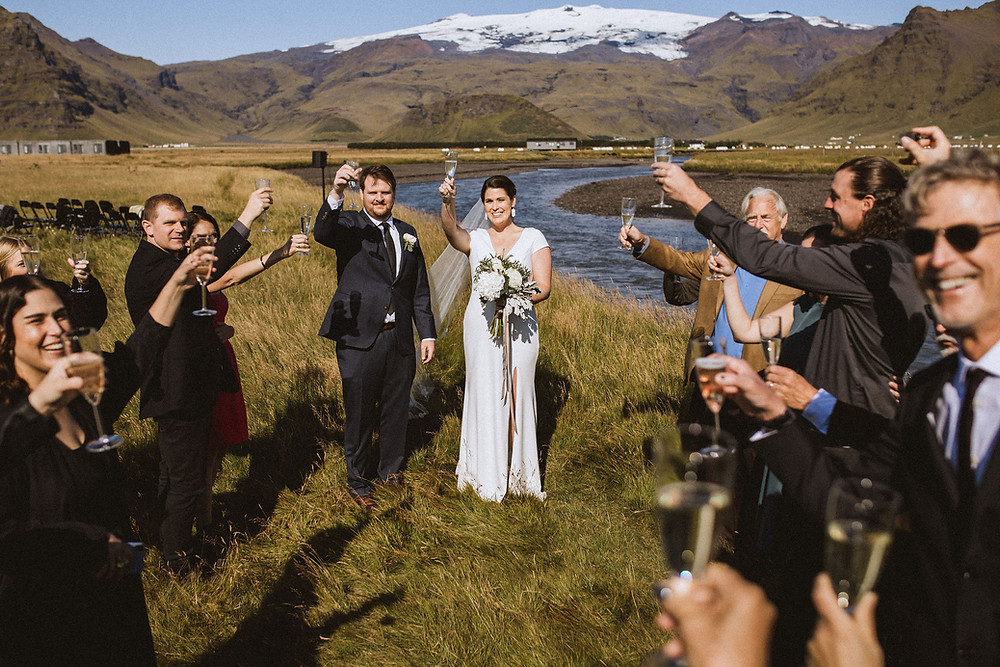 Umi Hotel wedding ceremony in Iceland planned by Pink Iceland