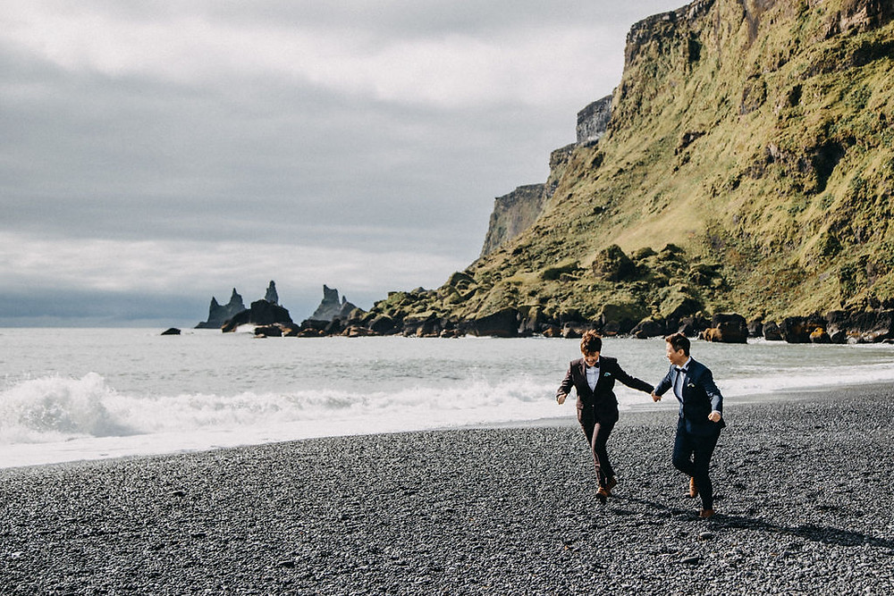 Lesbian Elopement in Iceland