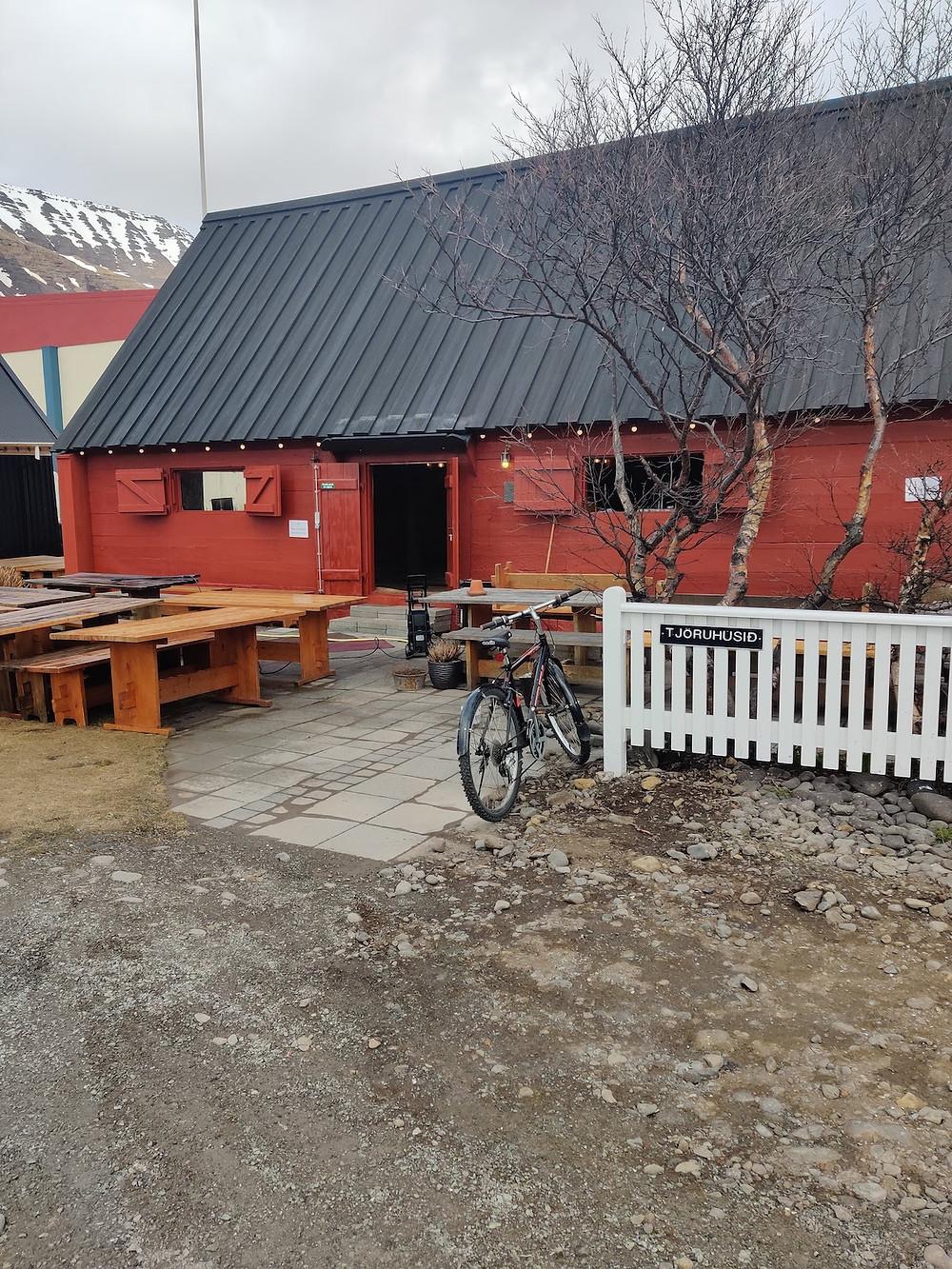 Tjoruhusid restaurant down by the Dokkan harbour in Isafjordur