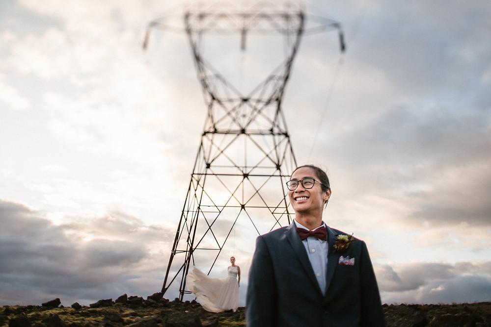 Pink Iceland Wedding planner