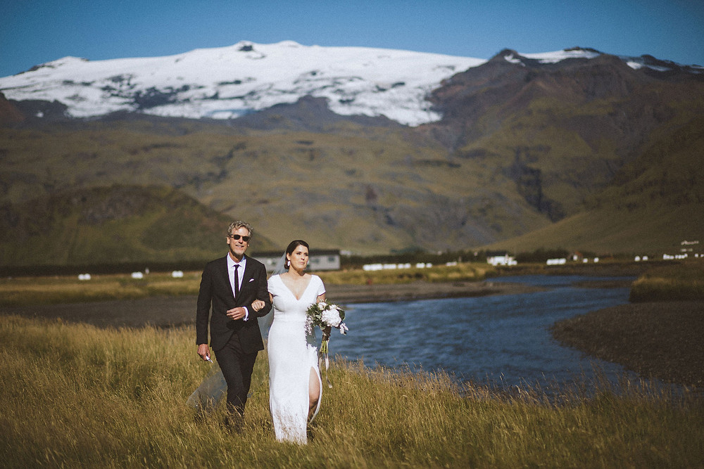 Wedding ceremony at Umi hotel by Pink Iceland wedding planner