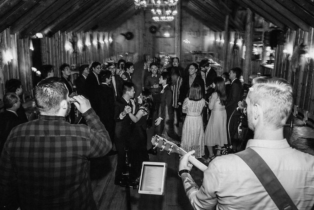 Iceland Wedding reception in Ingolfsskali Viking restaurant