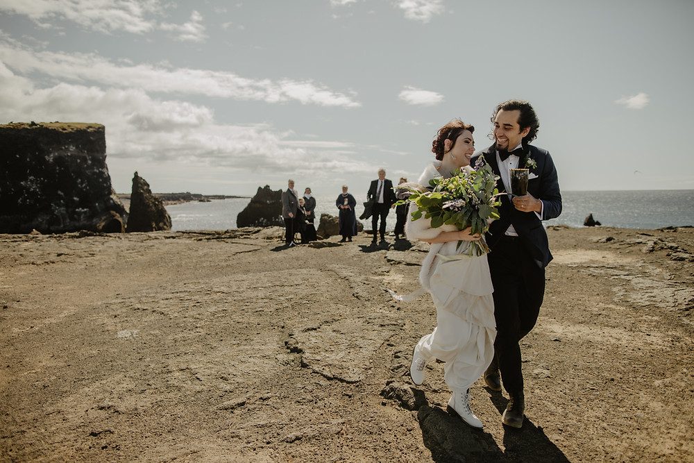 Iceland helicopter wedding by Pink Iceland Wedding planner