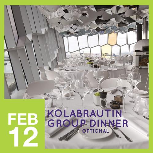 Kolabrautin Group Dinner